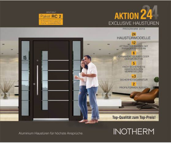 Inotherm Aktion24 Haustüren